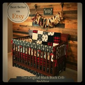 Other - Baby boy crib set. Bed set. Rustic. Custom made.